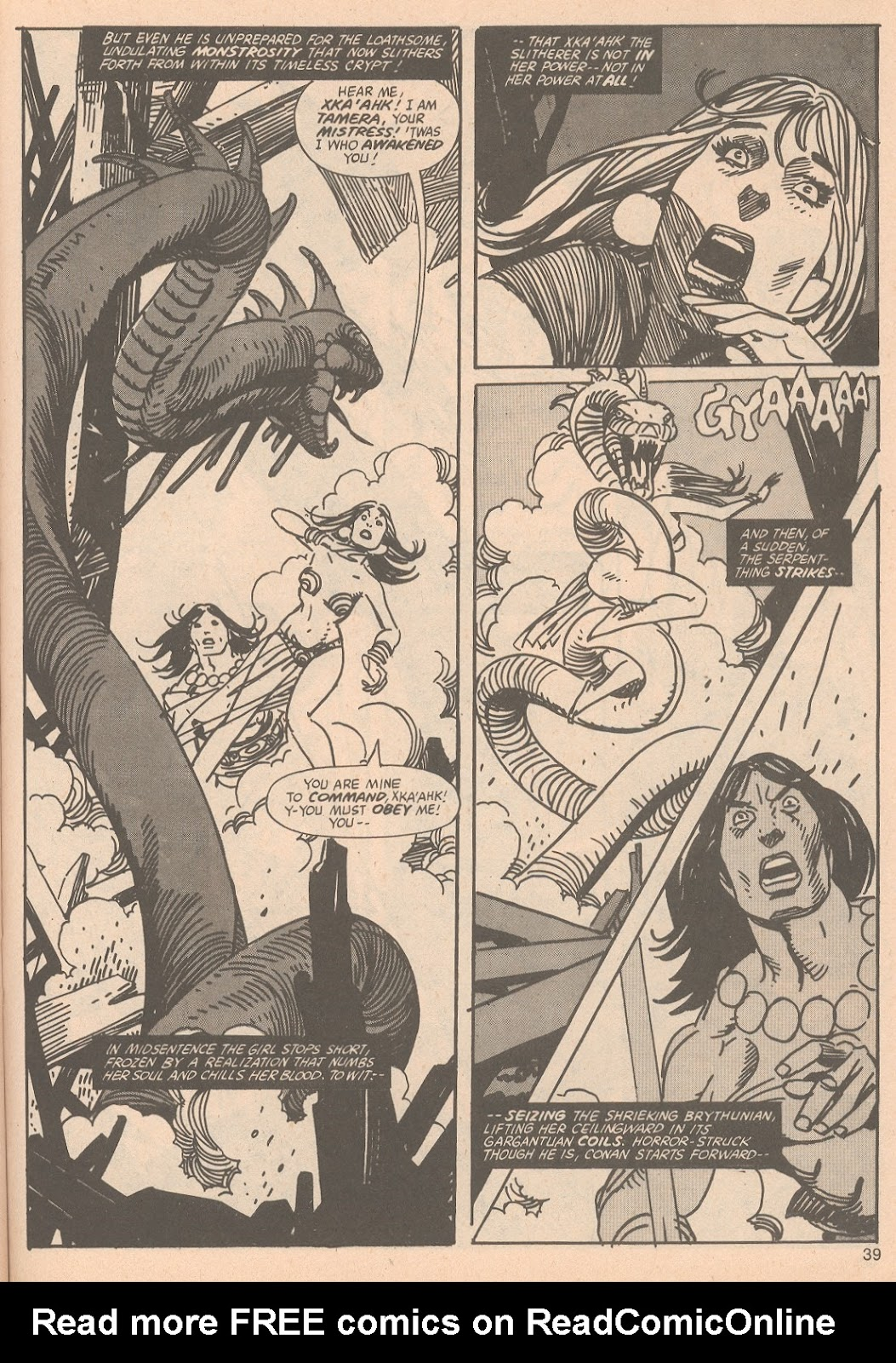 The Savage Sword Of Conan Issue #65 #66 - English 39