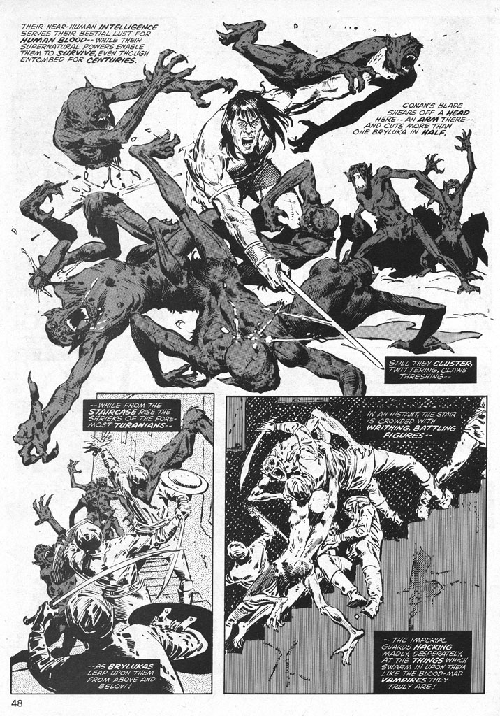 The Savage Sword Of Conan Issue #38 #39 - English 48