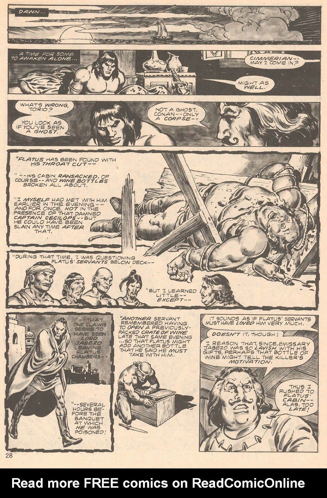 The Savage Sword Of Conan Issue #66 #67 - English 28