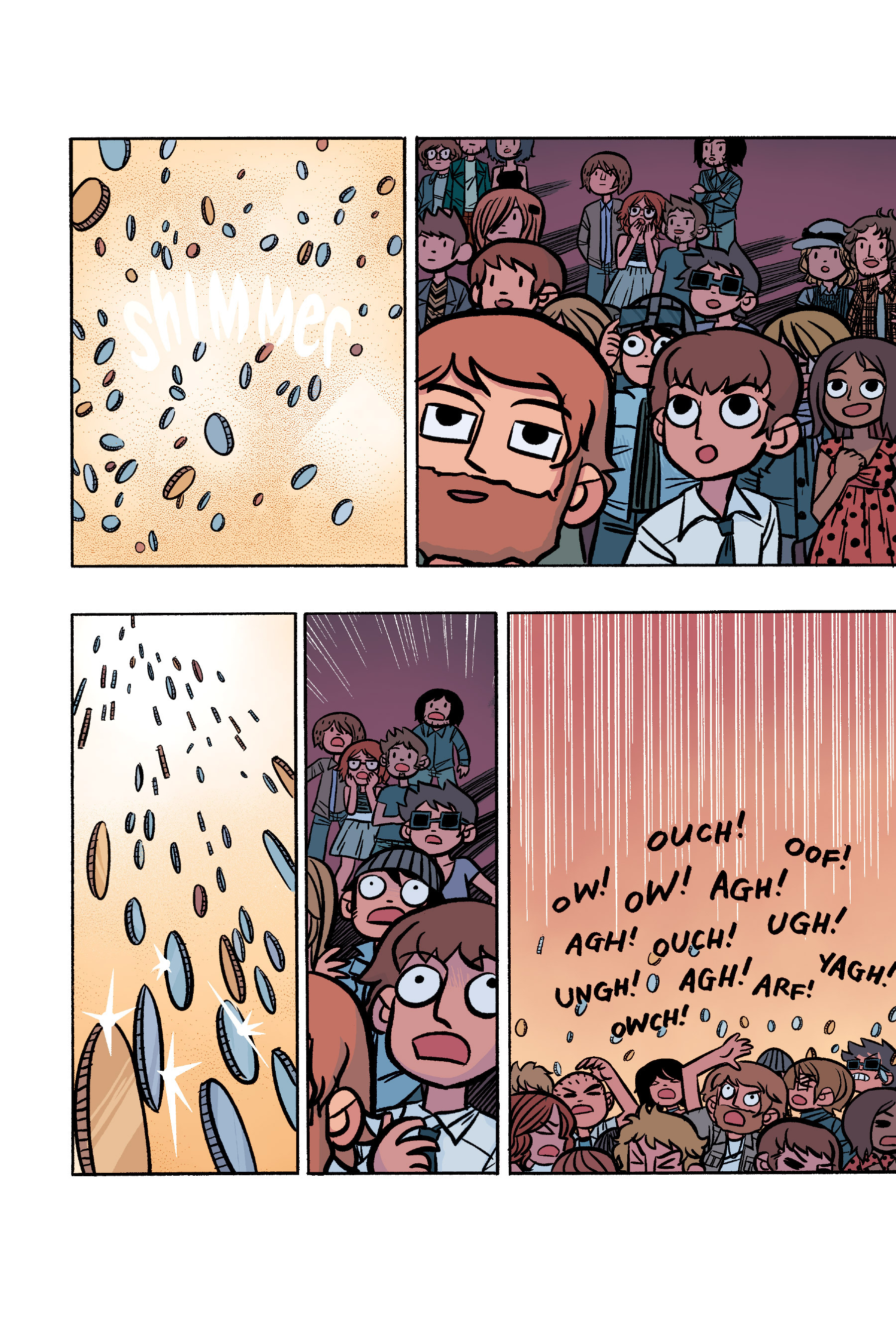 Read online Scott Pilgrim comic -  Issue #6 - 209