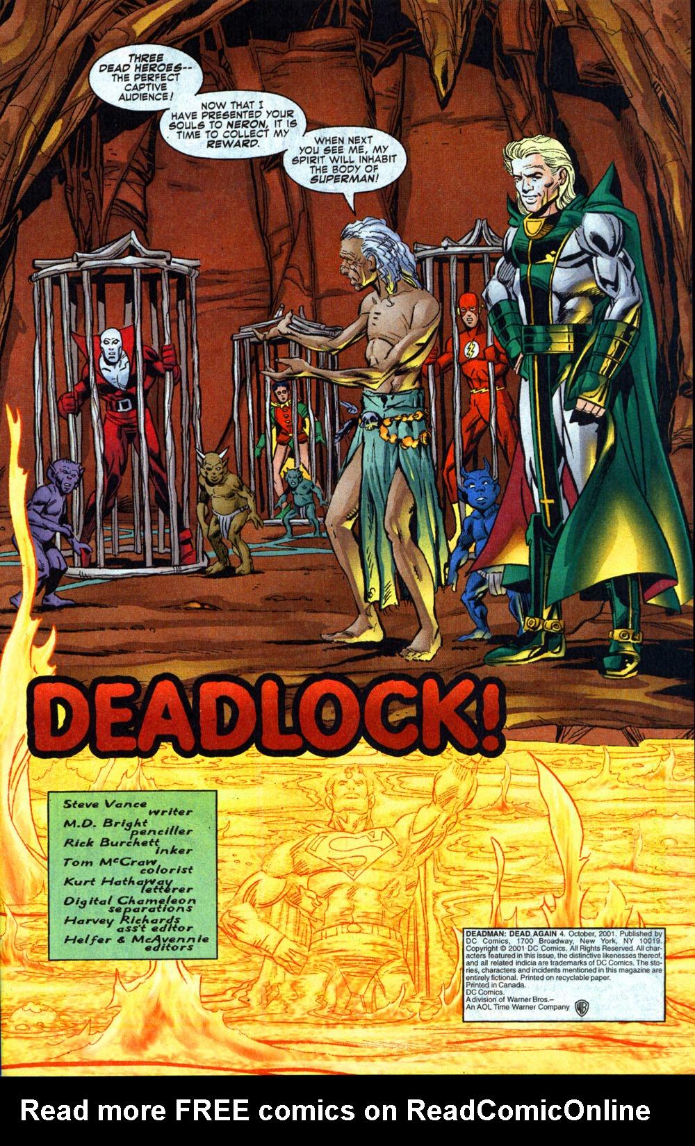 Read online Deadman: Dead Again comic -  Issue #4 - 2