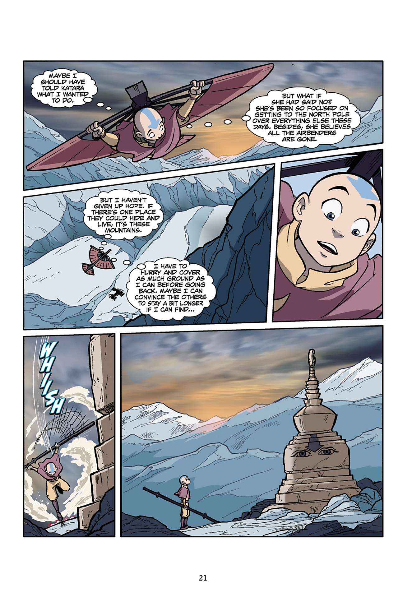 Nickelodeon Avatar: The Last Airbender - The Lost Adventures chap full pic 22