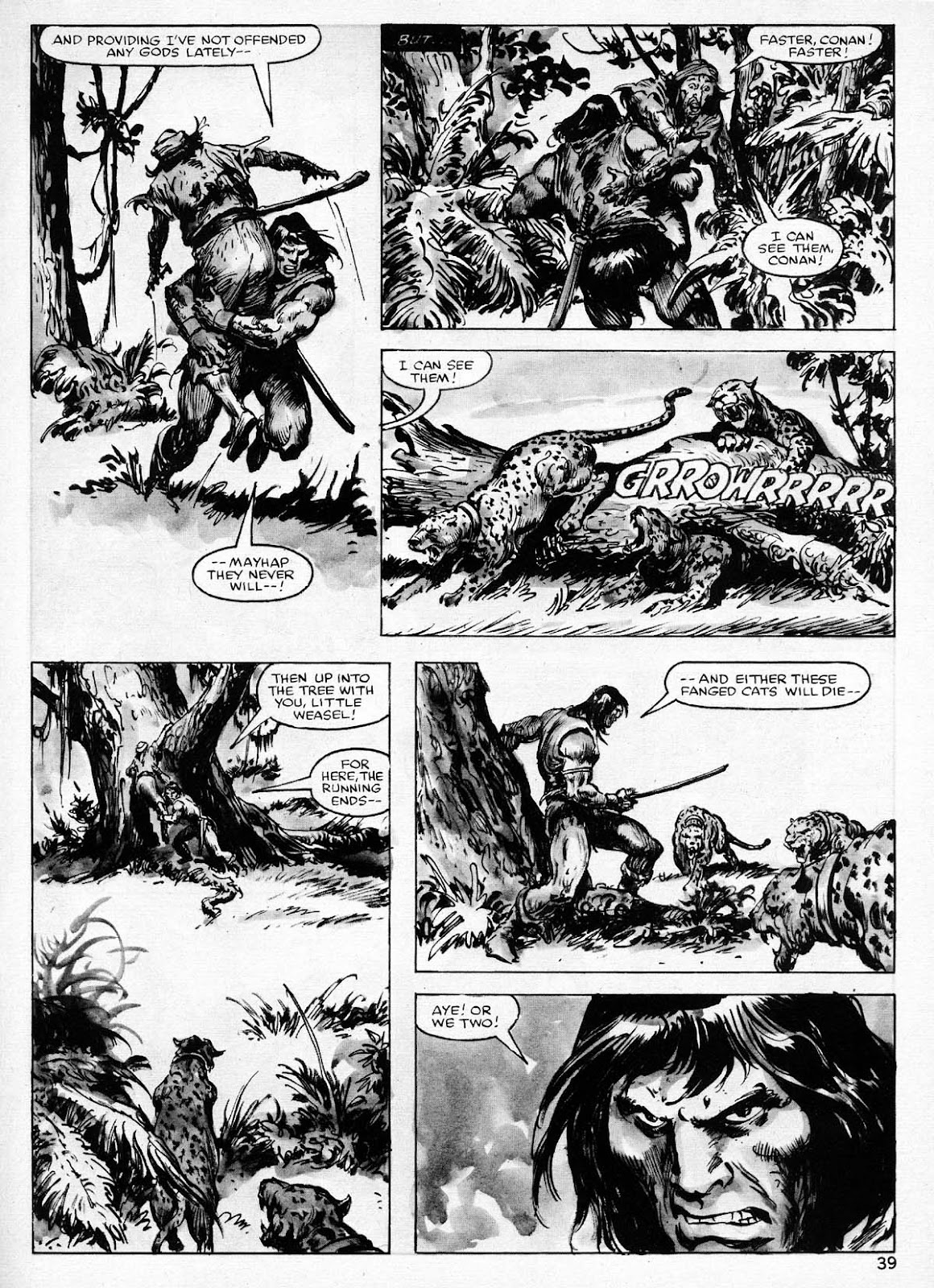 The Savage Sword Of Conan Issue #77 #78 - English 39