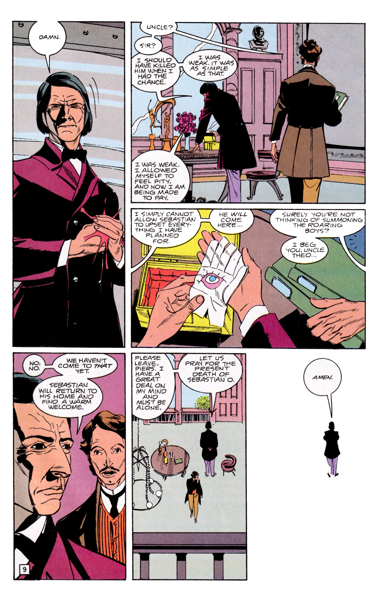 Read online Sebastian O comic -  Issue #1 - 13