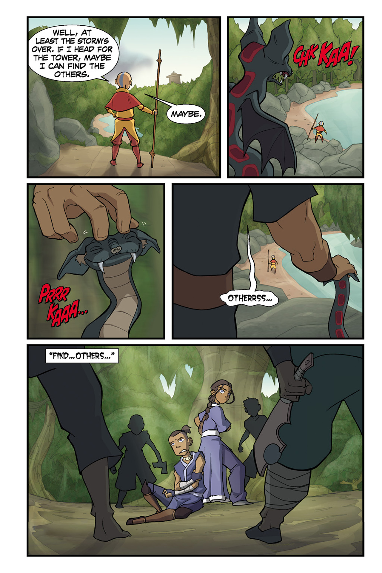 Nickelodeon Avatar: The Last Airbender - The Lost Adventures chap full pic 66