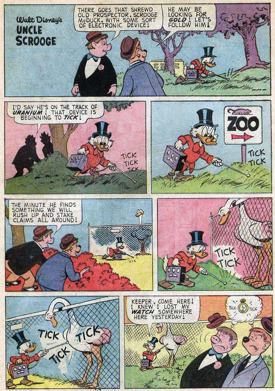 Uncle Scrooge (1953) Issue #55 #55 - English 29