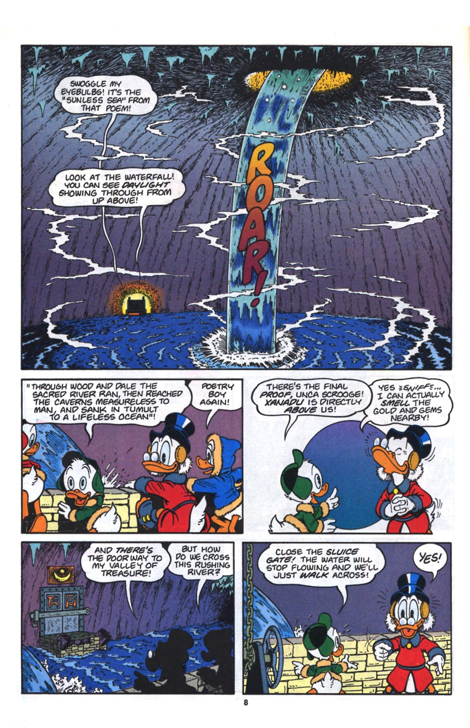 Uncle Scrooge (1953) Issue #261 #261 - English 9