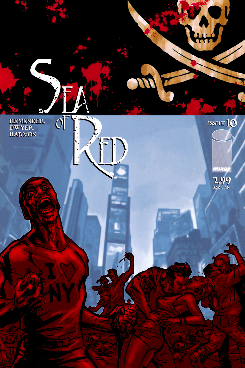 Read online Sea of Red comic -  Issue #10 - 1