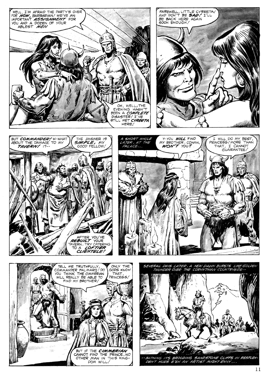 The Savage Sword Of Conan Issue #71 #72 - English 11