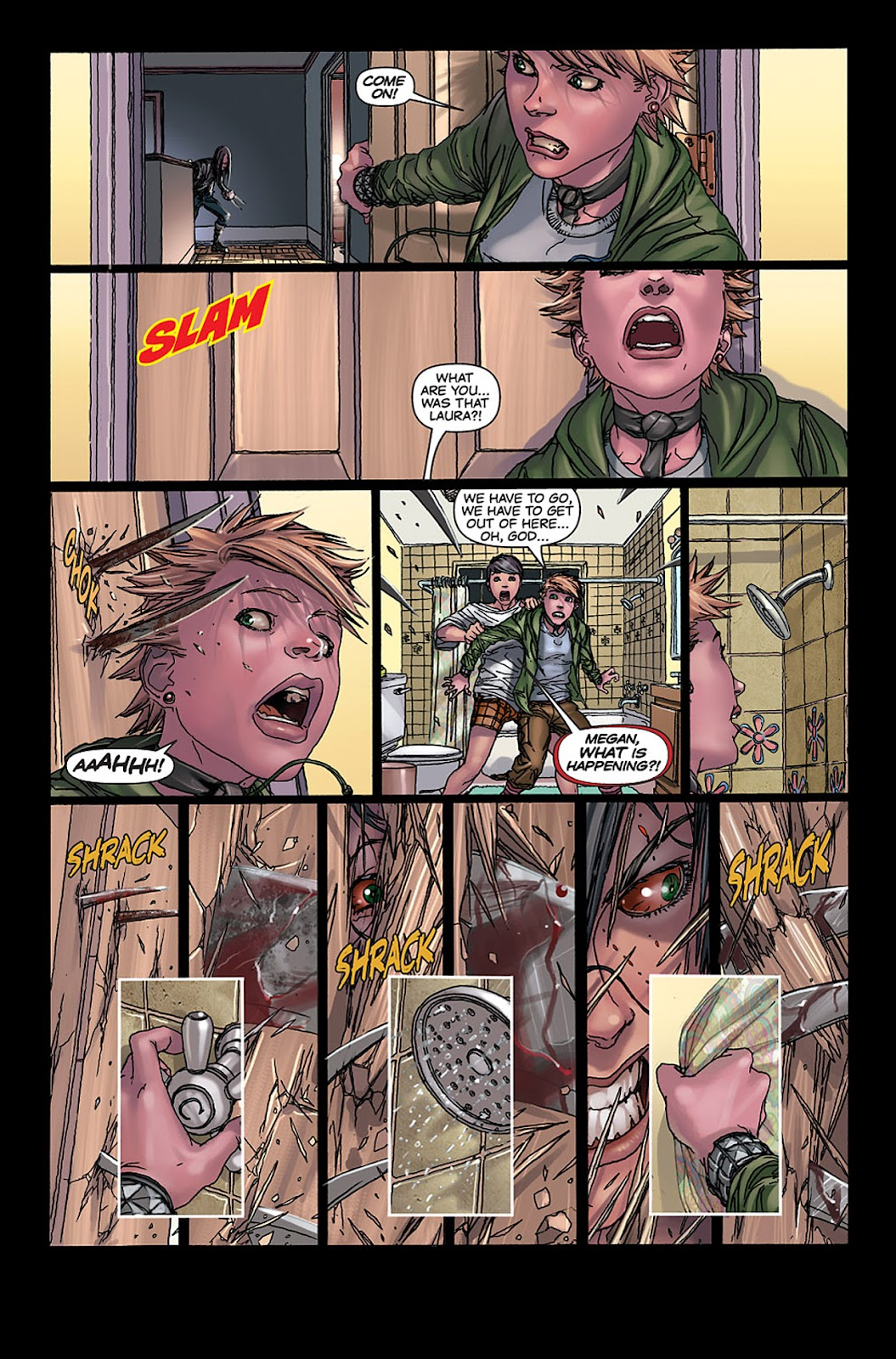 X-23: Target X Issue #4 #4 - English 7