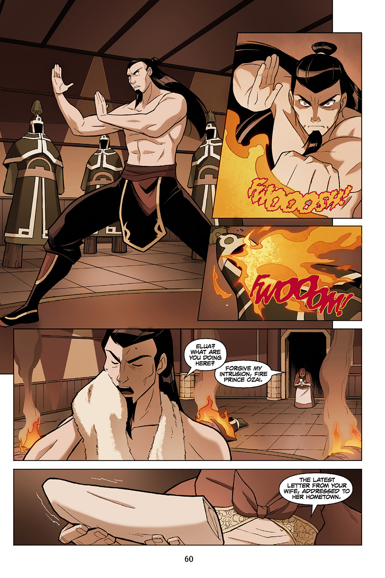 Read online Nickelodeon Avatar: The Last Airbender - The Search comic -  Issue # Part 1 - 61