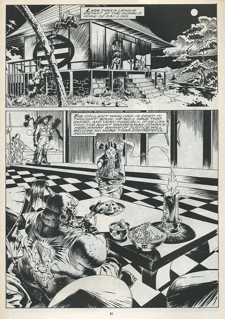 The Savage Sword Of Conan Issue #175 #176 - English 23