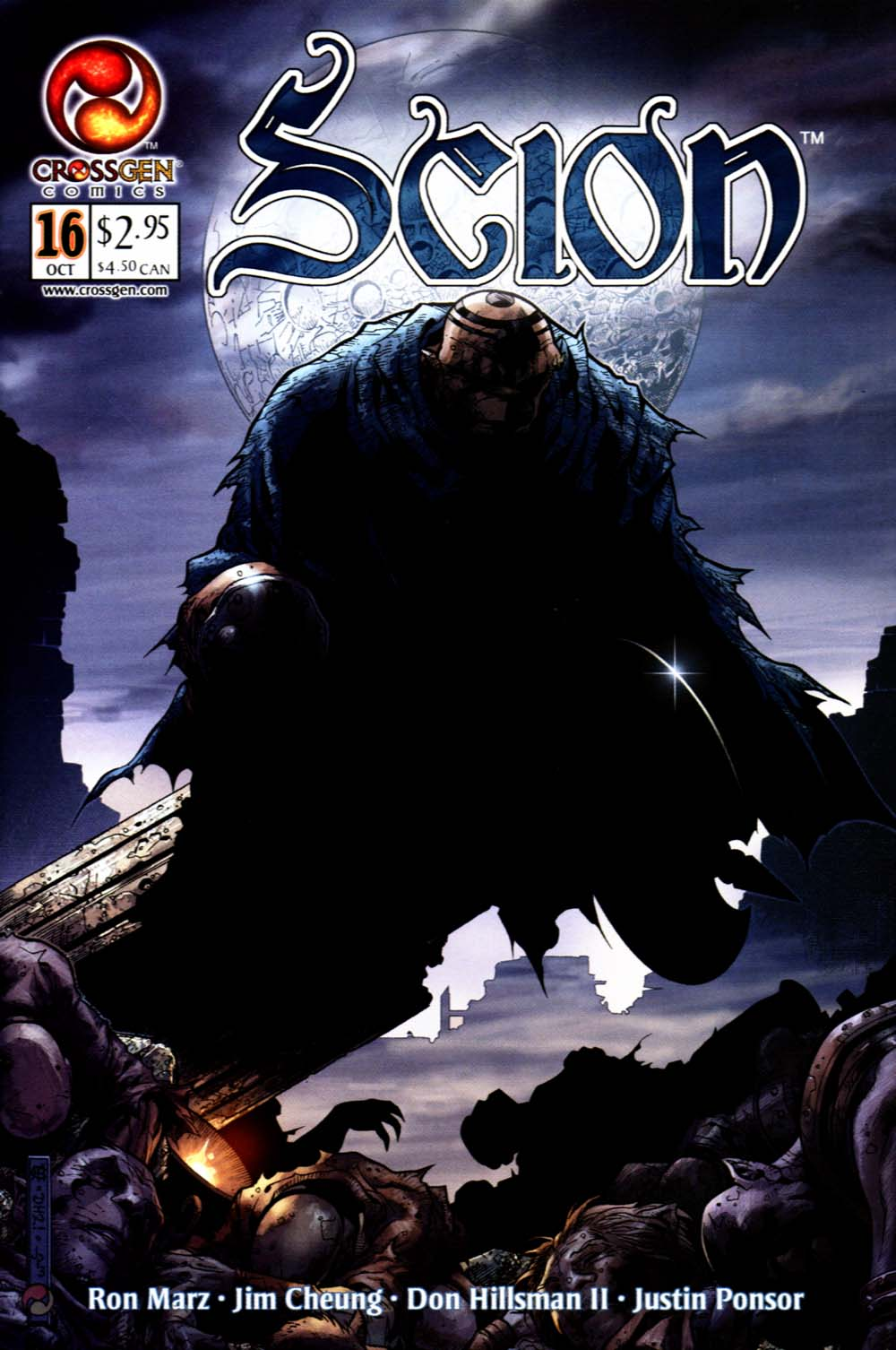 Read online Scion comic -  Issue #16 - 1