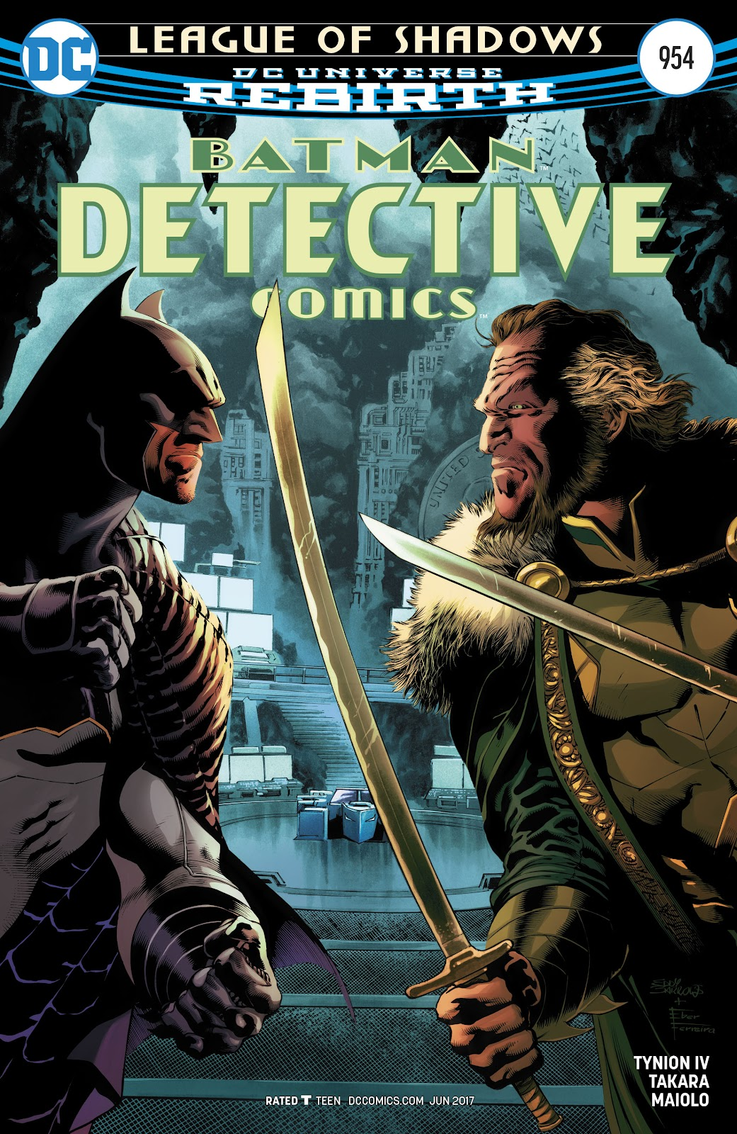 Detective Comics (2016) Issue #954 #21 - English 1