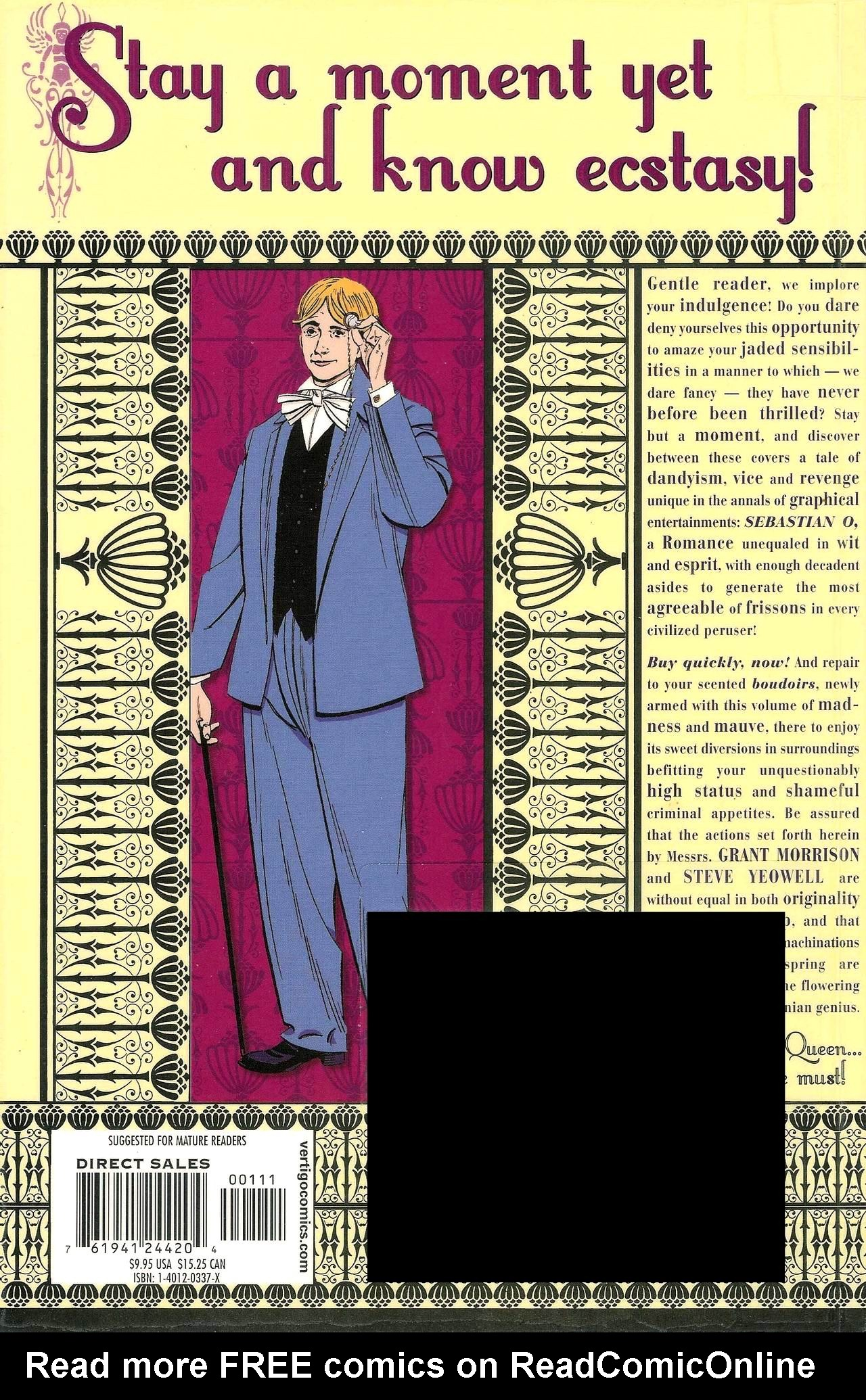 Read online Sebastian O comic -  Issue # _TPB - 8