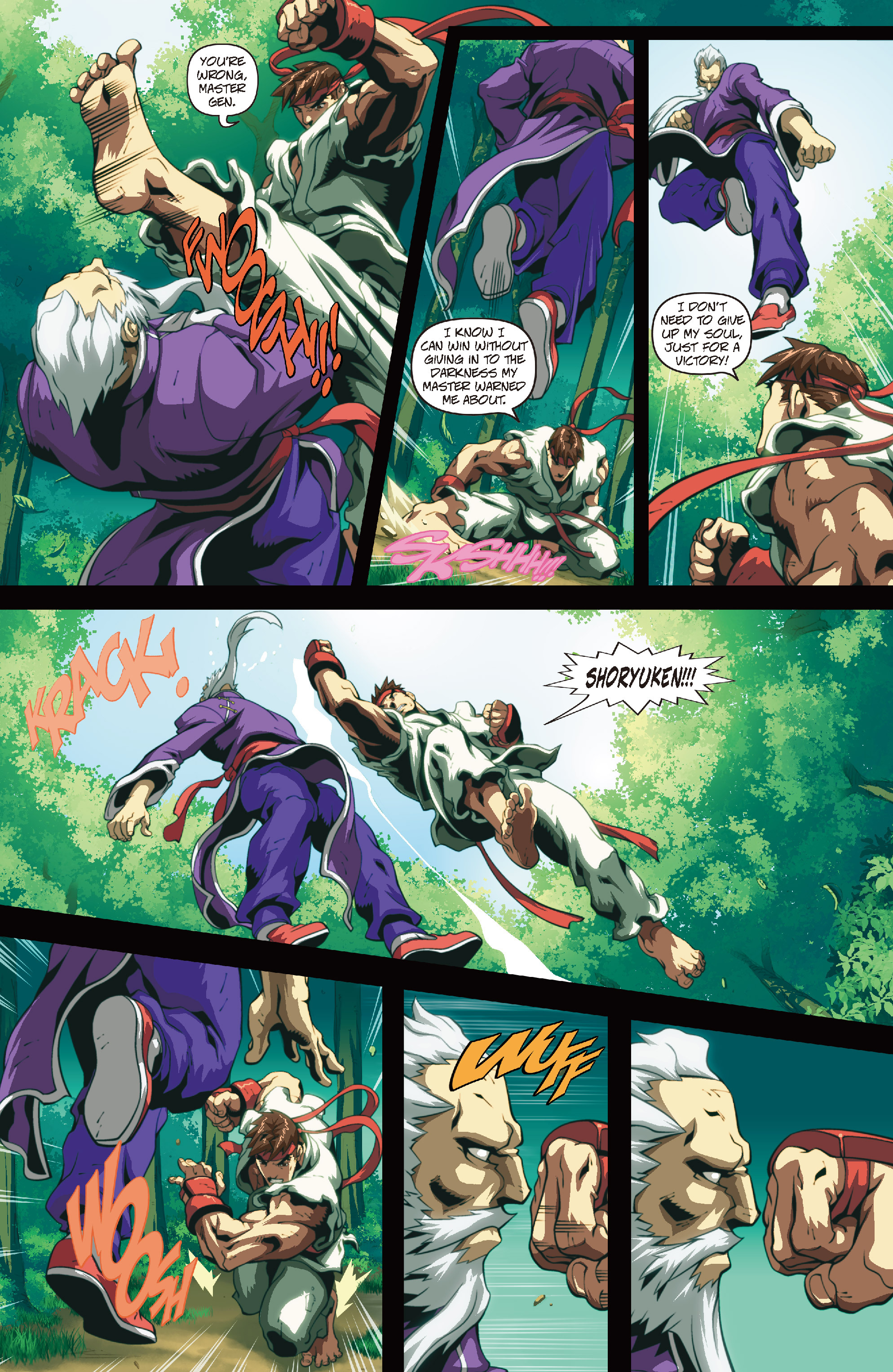 Street Fighter II chap 4 pic 14