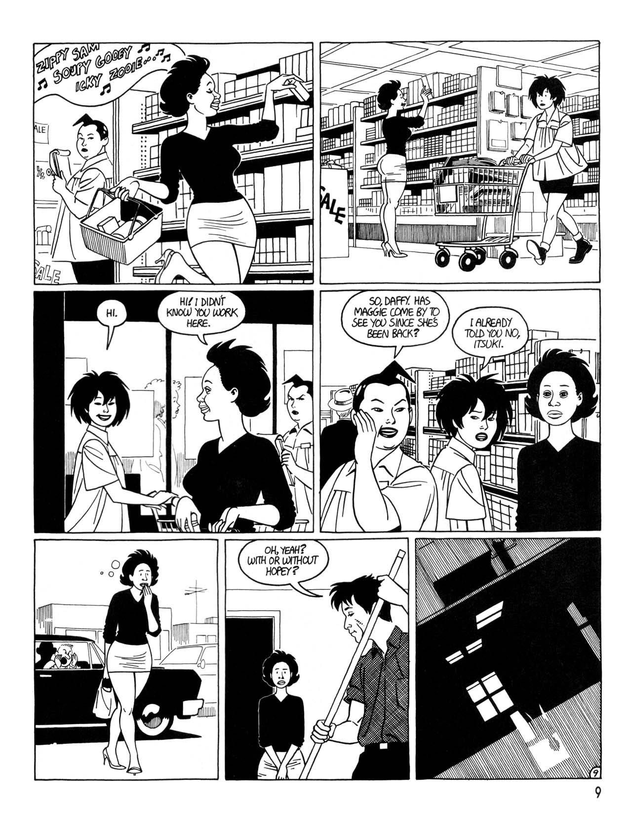 Love and Rockets (1982) #35 #35 - English 11