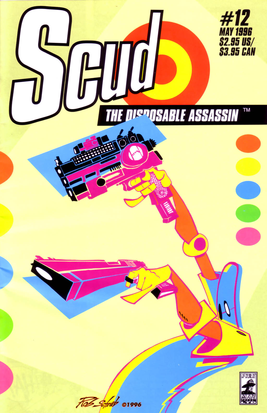 Read online Scud: The Disposable Assassin (1994) comic -  Issue #12 - 1