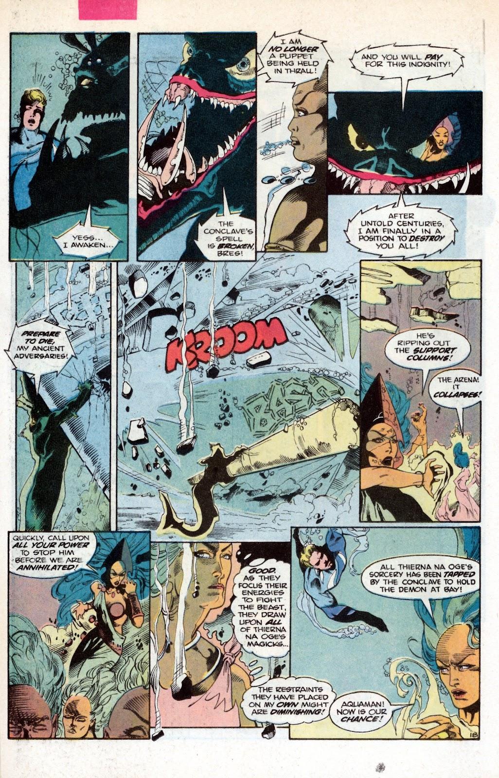 Aquaman (1986) Issue #2 #2 - English 26