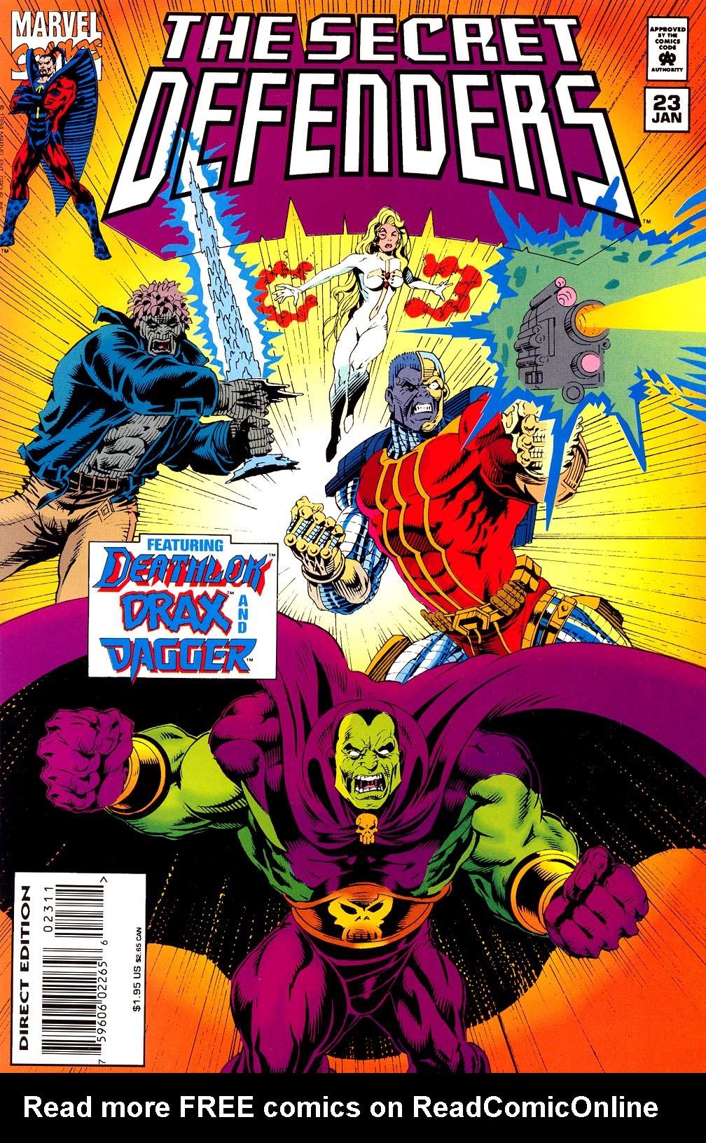 Read online Secret Defenders comic -  Issue #23 - 1