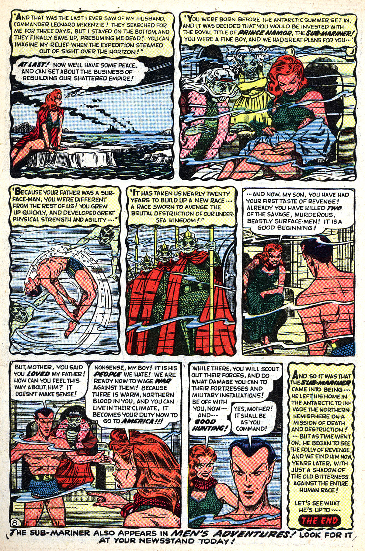 Sub-Mariner Comics #33 #33 - English 10