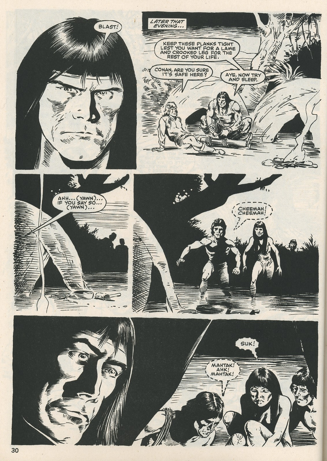 The Savage Sword Of Conan Issue #115 #116 - English 30