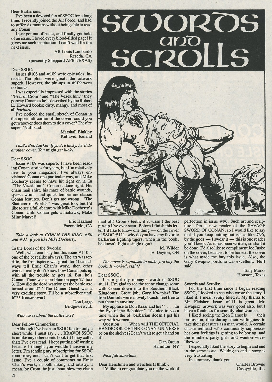 The Savage Sword Of Conan Issue #115 #116 - English 4