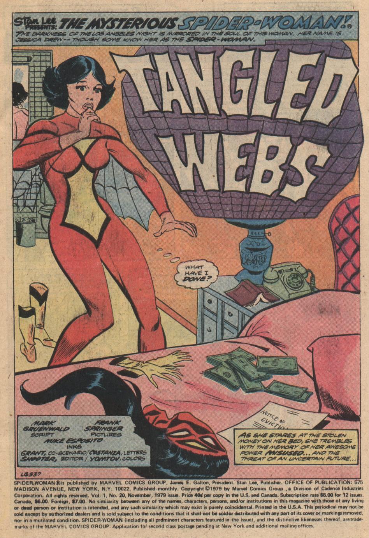 Spider-Woman (1978) #20 #31 - English 2