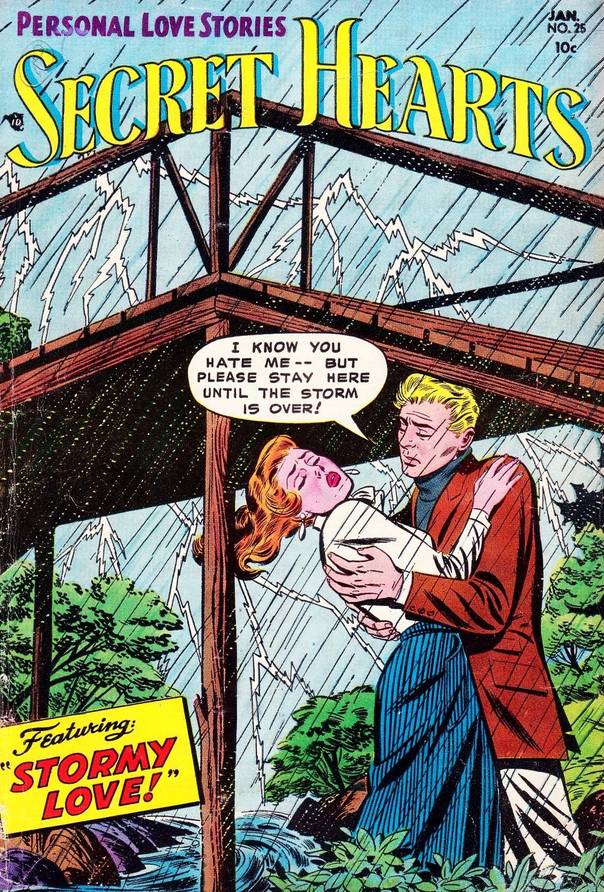 Read online Secret Hearts comic -  Issue #25 - 1