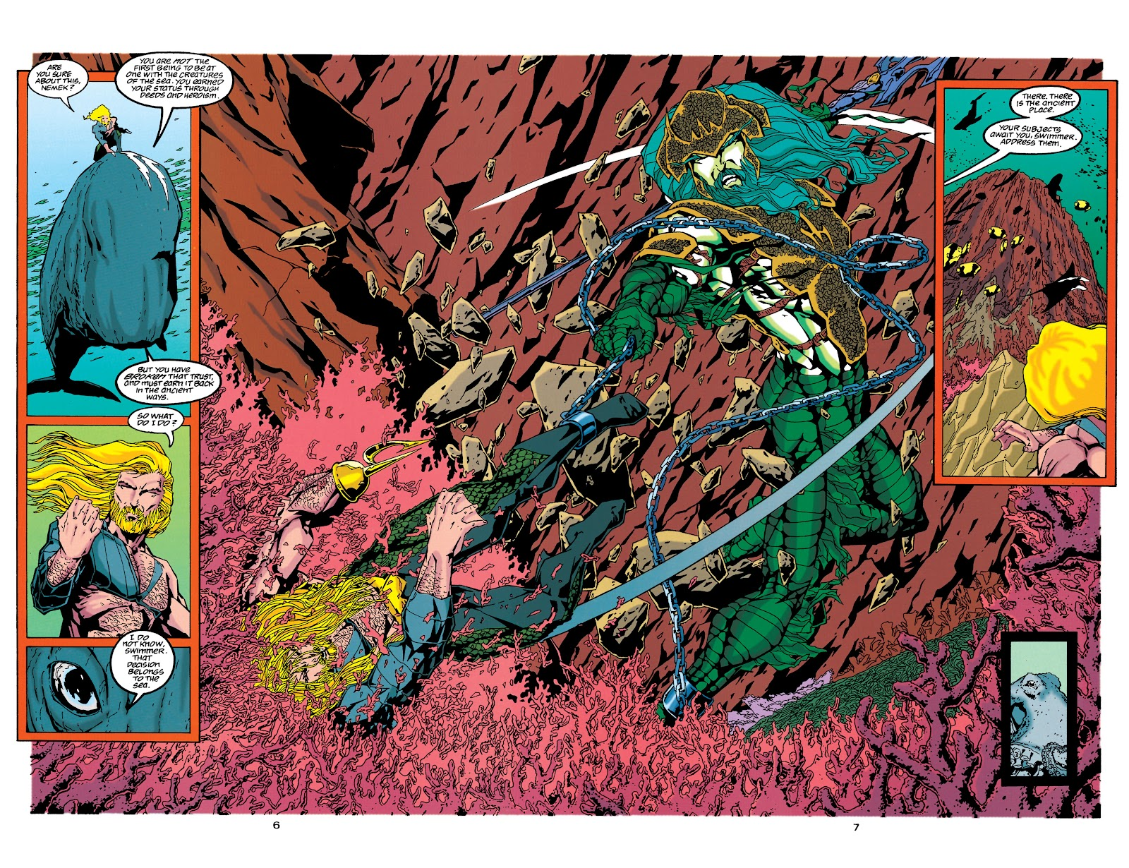 Aquaman (1994) Issue #34 #40 - English 6