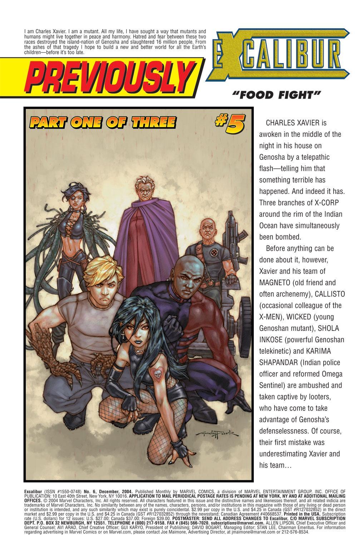 Excalibur (2004) Issue #6 #6 - English 2