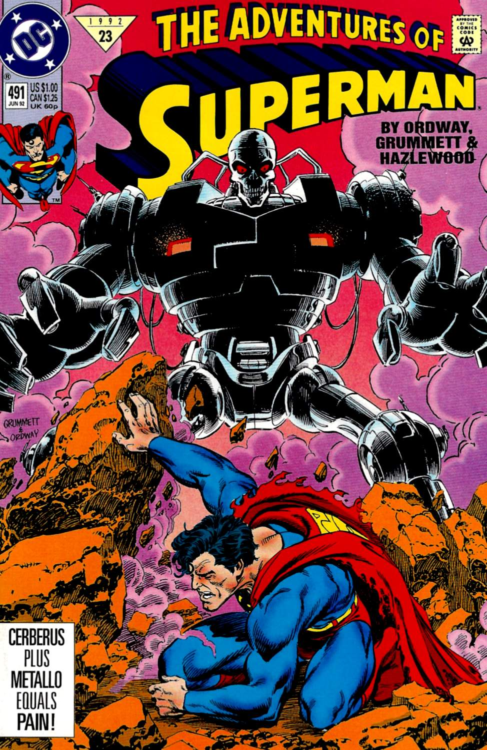 Adventures of Superman (1987) 491 Page 1