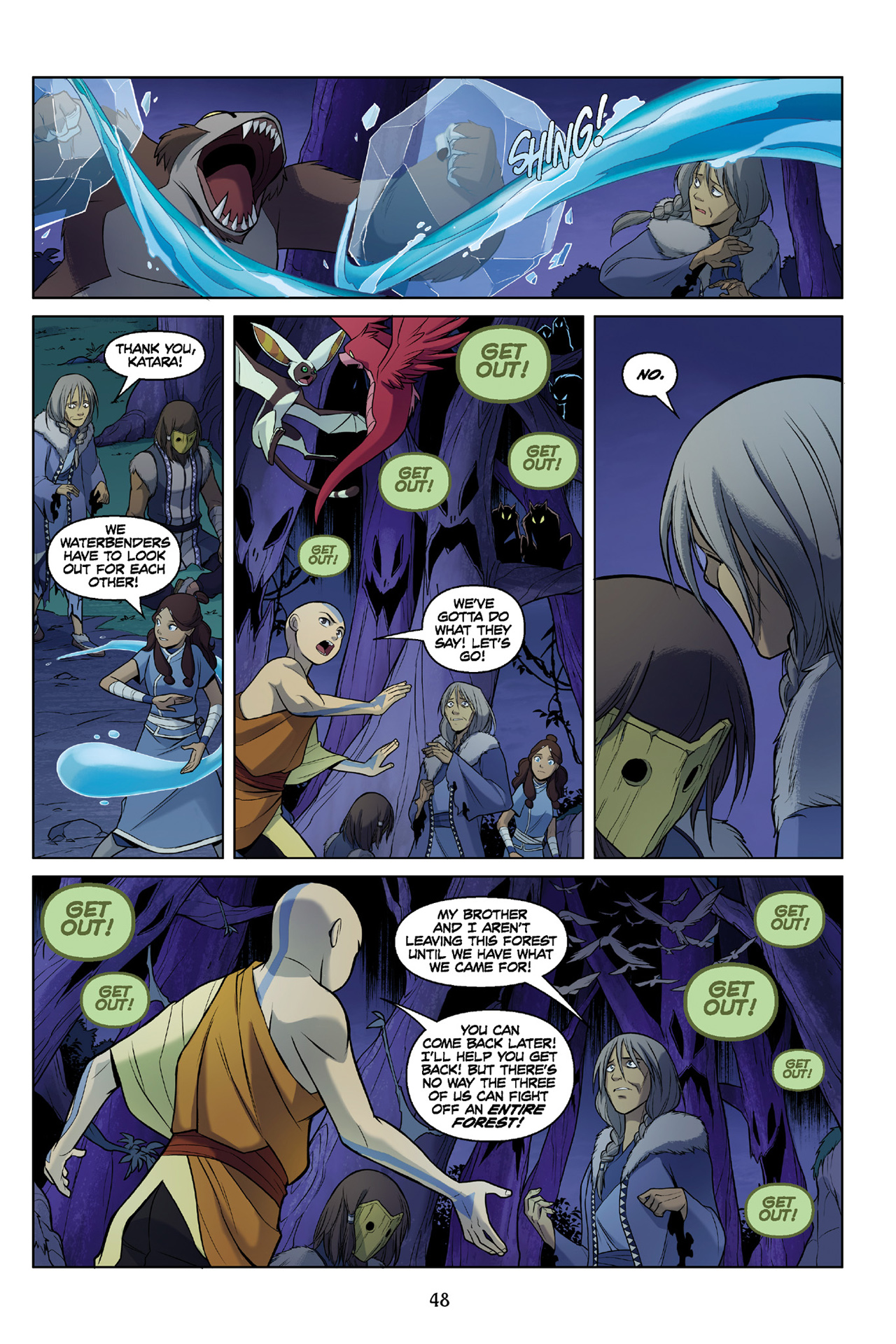 Read online Nickelodeon Avatar: The Last Airbender - The Search comic -  Issue # Part 3 - 49