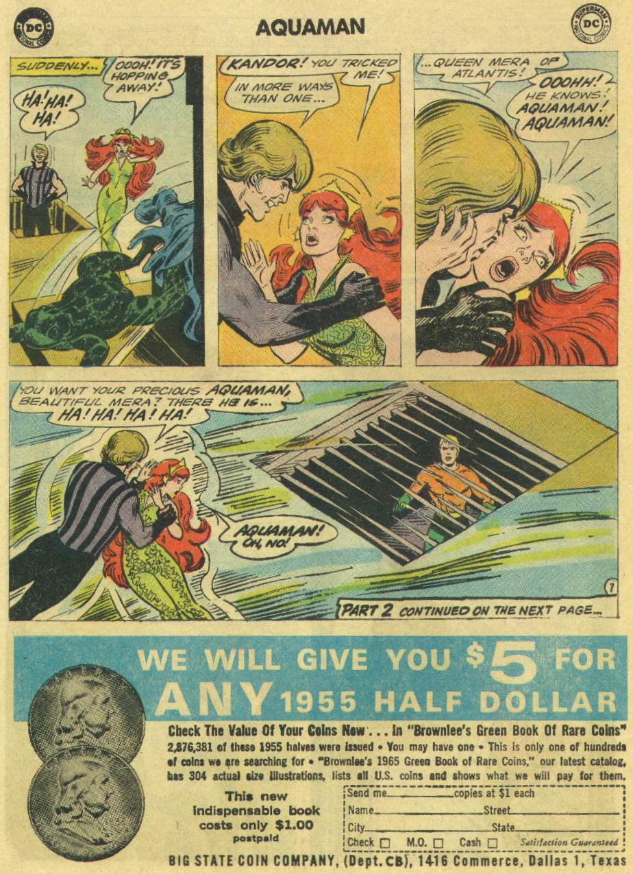 Read online Aquaman (1962) comic -  Issue #22 - 10
