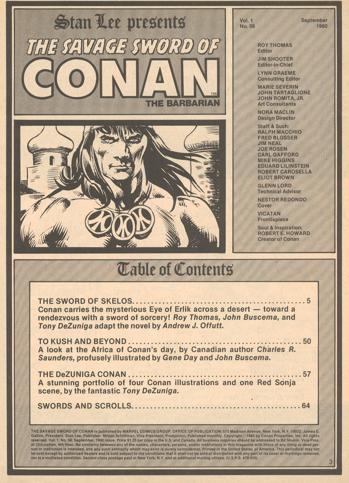 The Savage Sword Of Conan Issue #56 #57 - English 3