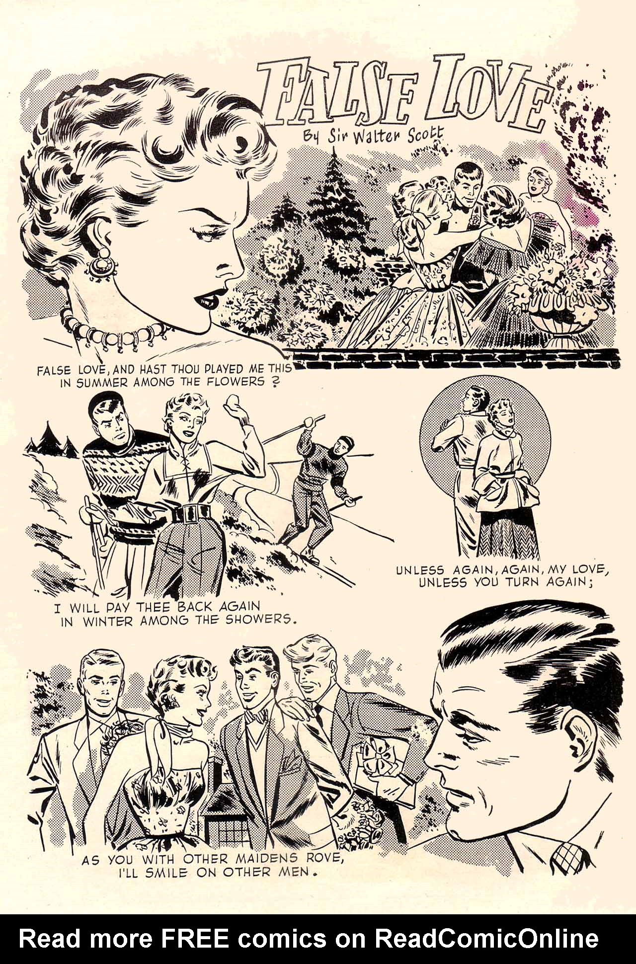 Read online Secret Hearts comic -  Issue #12 - 35
