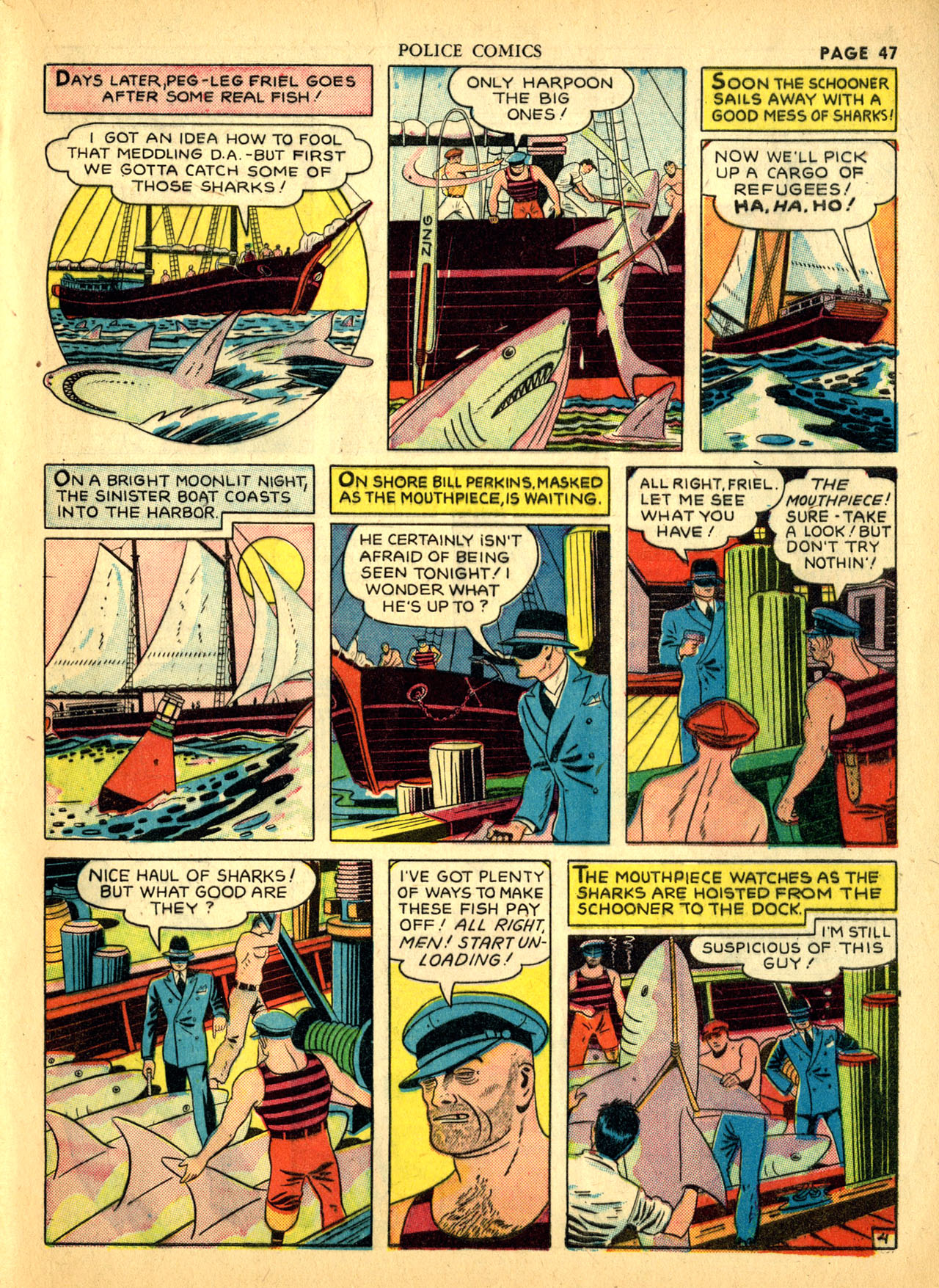 Police Comics #1 #127 - English 50