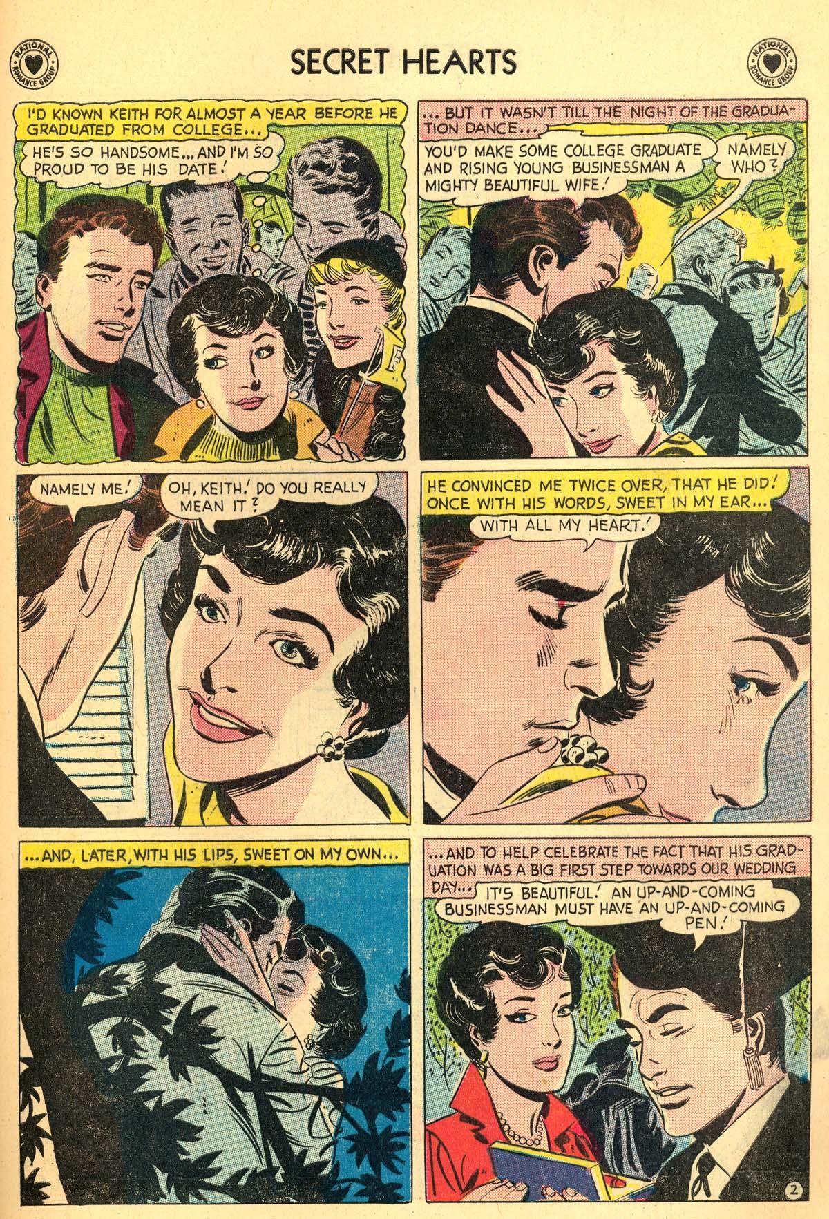Read online Secret Hearts comic -  Issue #55 - 21