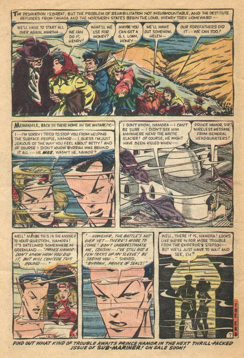 Sub-Mariner Comics #36 #36 - English 32