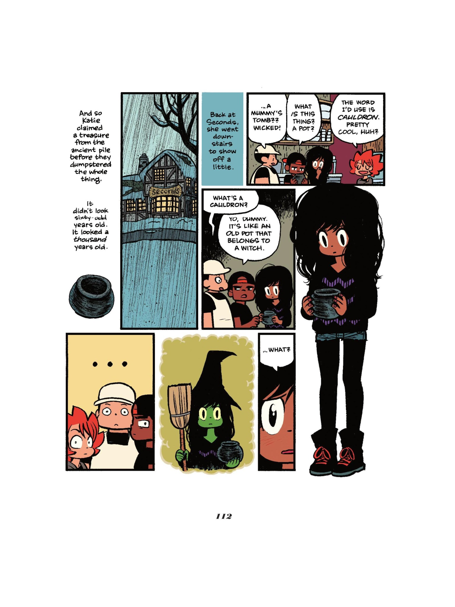 Read online Seconds comic -  Issue # Full - 113