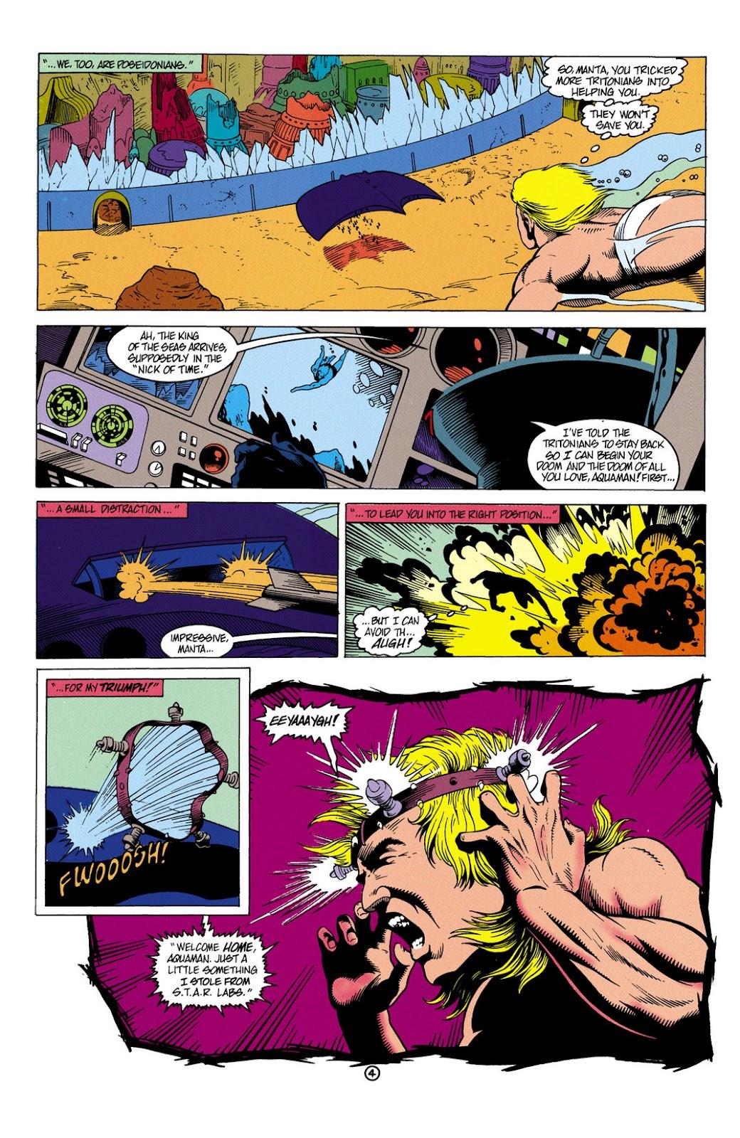 Aquaman (1991) Issue #6 #6 - English 5