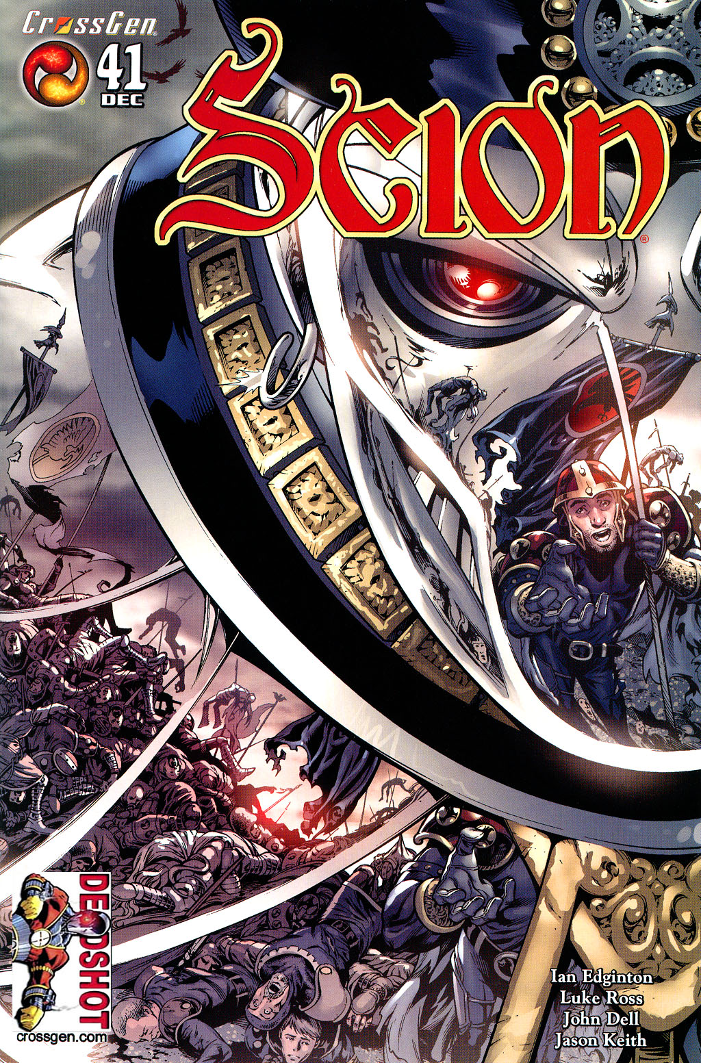 Read online Scion comic -  Issue #41 - 1