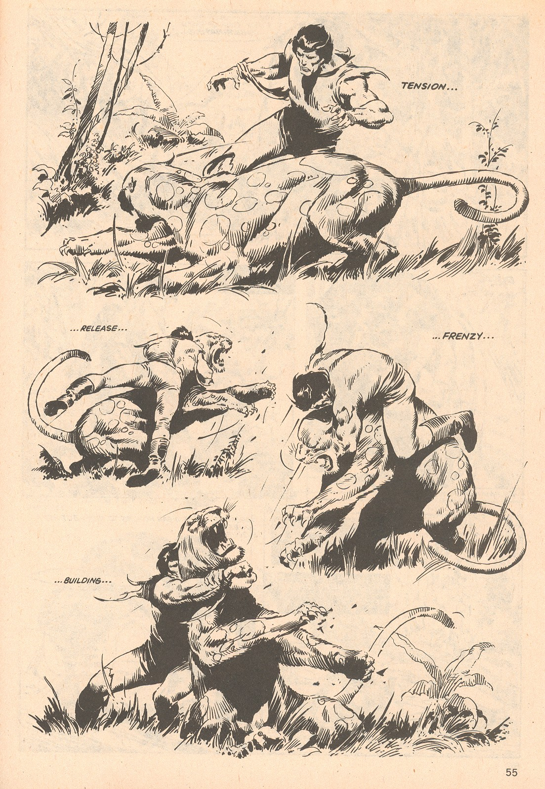 The Savage Sword Of Conan Issue #66 #67 - English 55
