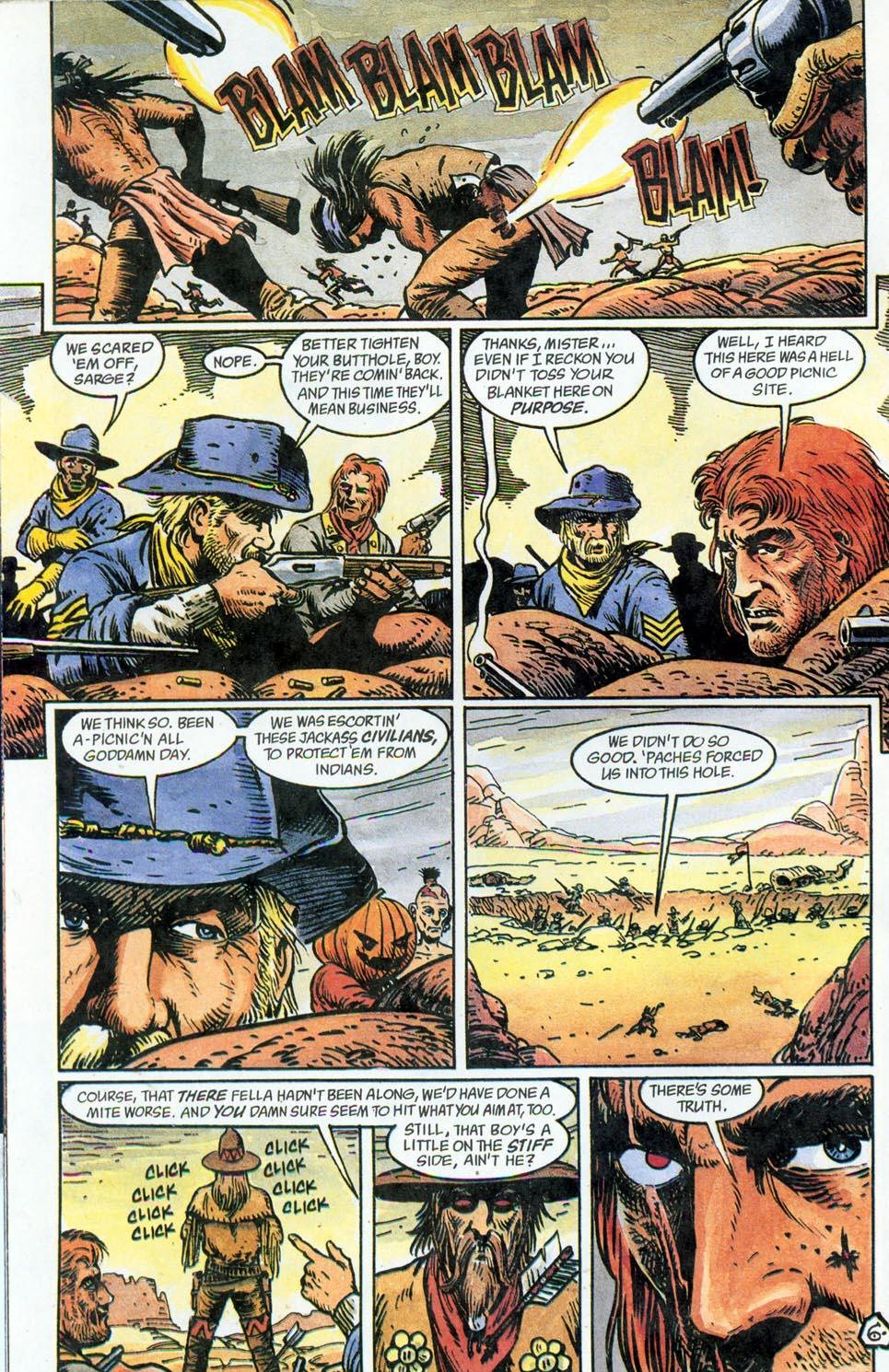 Jonah Hex: Two-Gun Mojo Issue #5 #5 - English 8