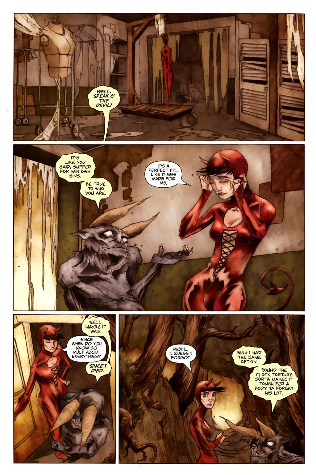Girl 13 Page 6 #6 - English 6