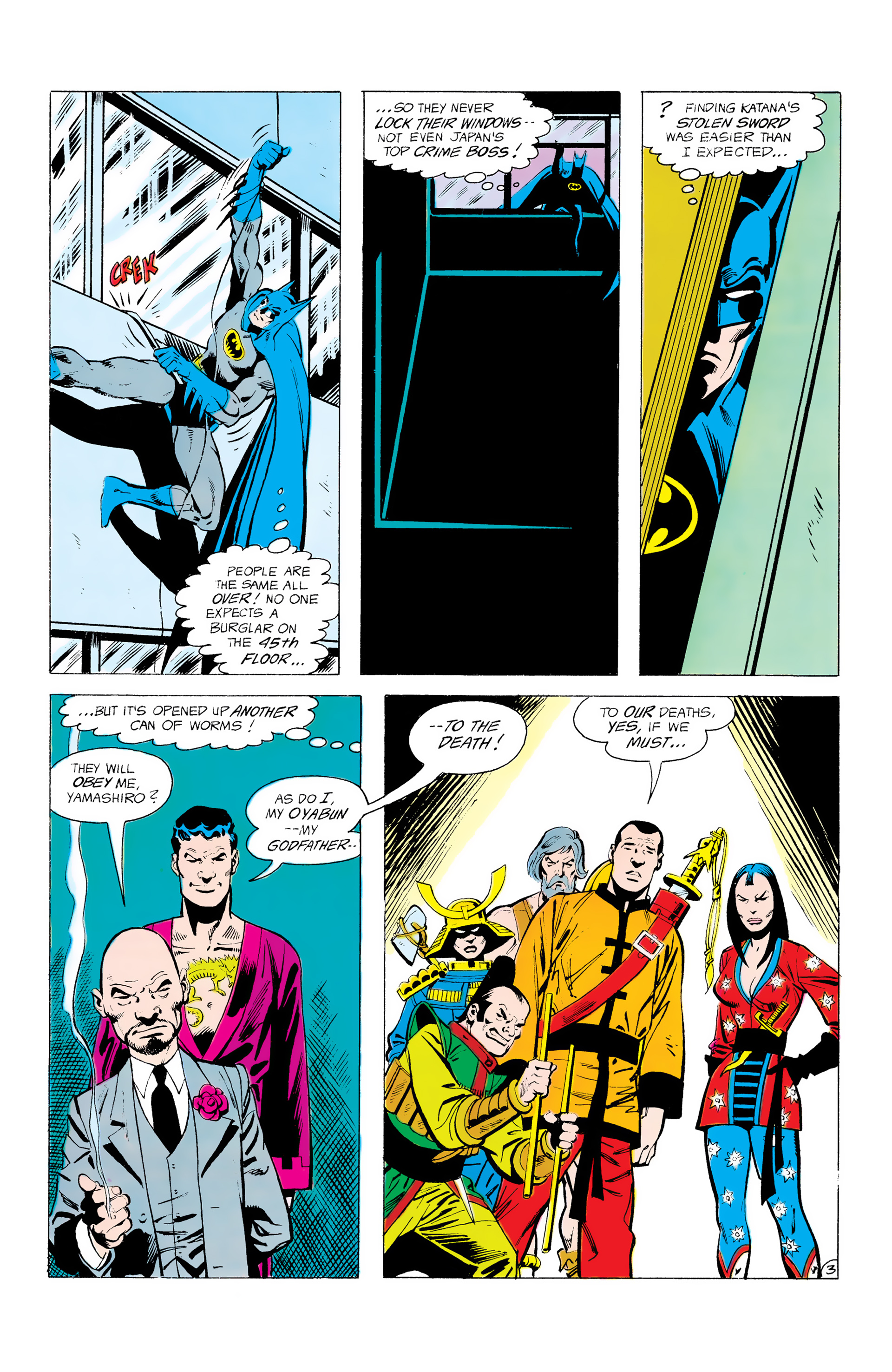 Batman and the Outsiders (1983) 12 Page 3
