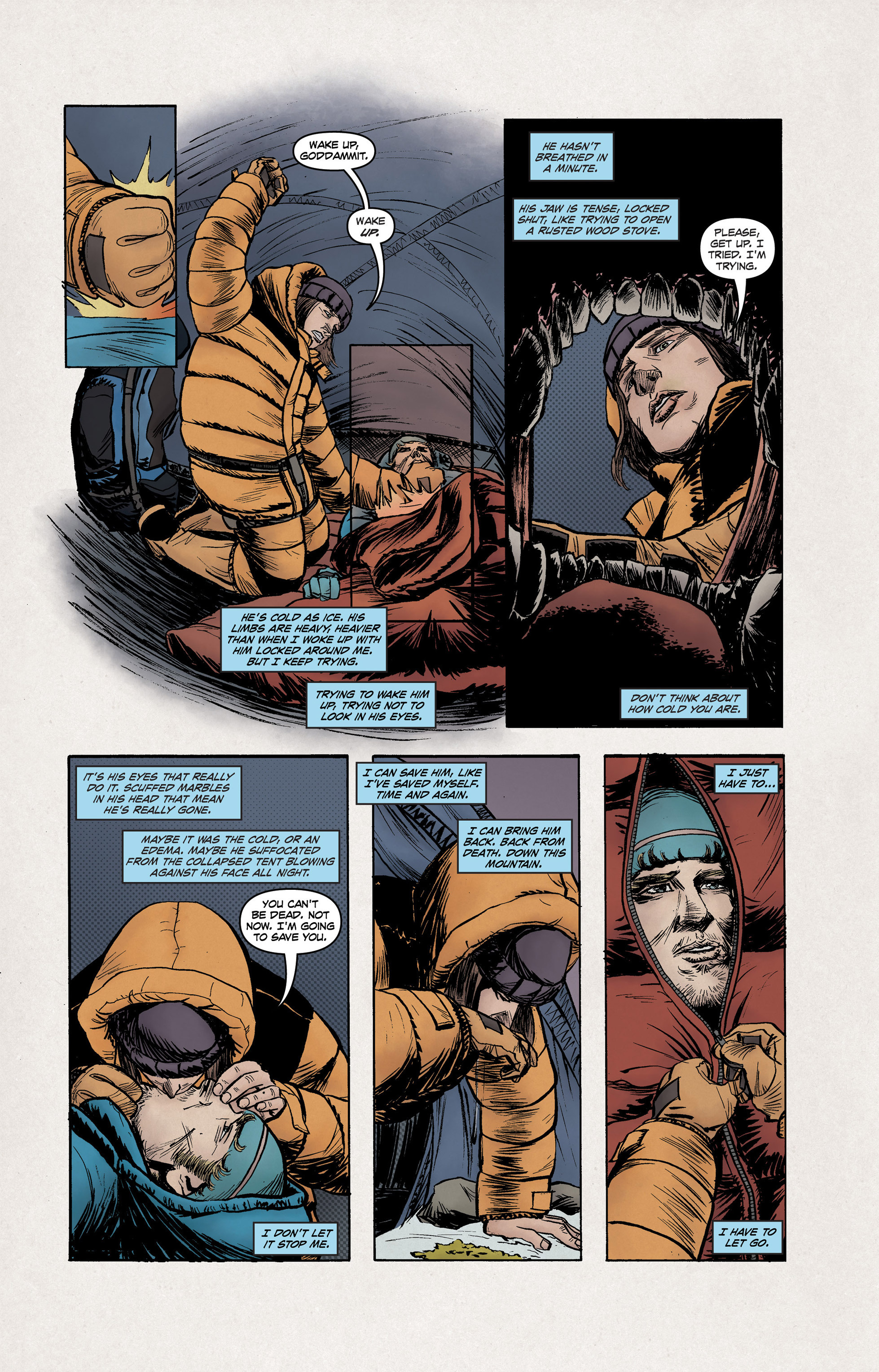 Read online High Crimes comic -  Issue #10 - 3