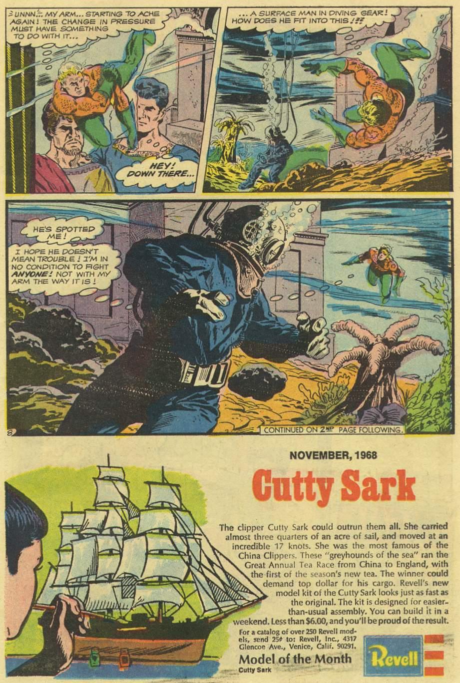 Aquaman (1962) Issue #43 #43 - English 11