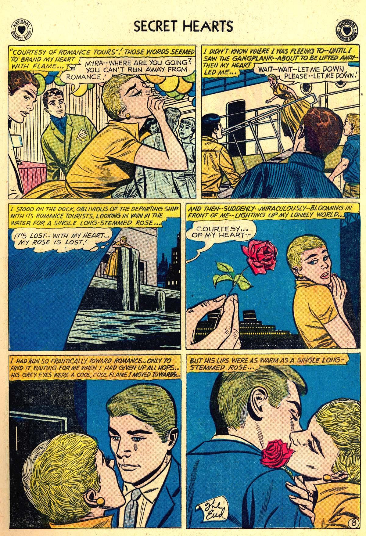 Read online Secret Hearts comic -  Issue #64 - 17