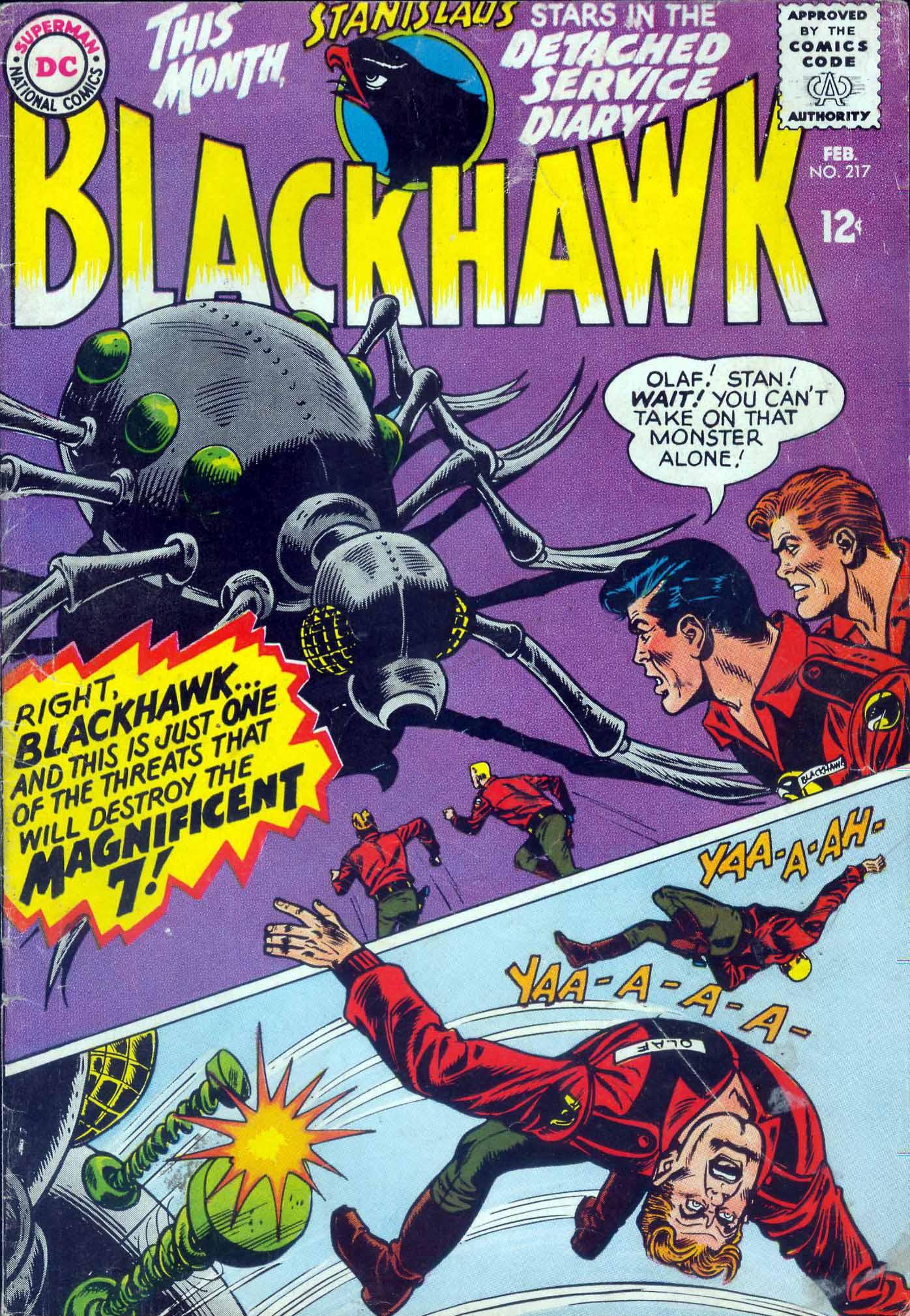Blackhawk (1957) 217 Page 1
